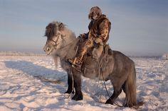 A Yakut horse herder near Verkhoyansk, Siberia