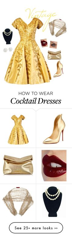 """vintage"" by onedirectionfashiongirl on Polyvore"