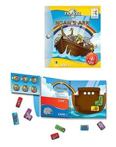 Noah's Ark Magnetic Travel Game/ Helps develop logic and spatial reasoning skills