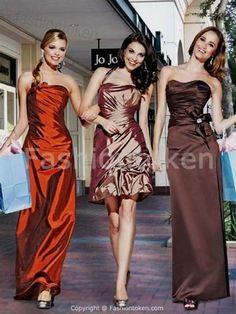 Nice Dark orange bridesmaid dress Check more at http://newclotheshop.com/dresses-review/dark-orange-bridesmaid-dress/