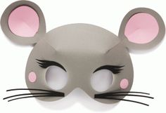 Silhouette Design Store - View Design #71835: 3d mouse mask