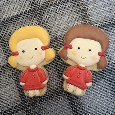 Girls Cookies // maecomacucar