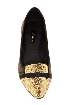Saxi Phone Flat by Nine West on  HauteLook Clearance Shoes d9d918f6366
