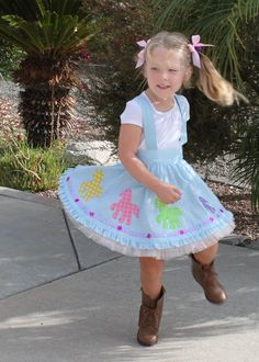 Pony applique circle twirl skirt girl toddler pattern pdf LETS GO to the  HOP by mackandlilypatterns on Etsy https://www.etsy.com/listing/207249282/pony-applique-circle-twirl-skirt-girl