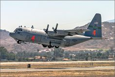 """Lockheed C-130 """"Hercules"""" (California ANG)"""