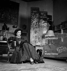 1950 - Coco Chanel by walter Carone