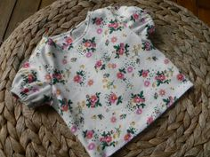 """OOPI: BITTY BABY FLORAL PJ""""S TUTORIAL: Part One The Shirt."""
