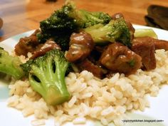 Skillet Broccoli Beef
