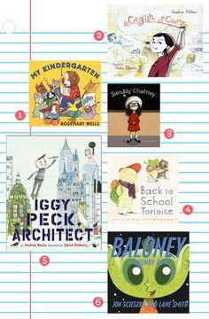 6 great back to school books