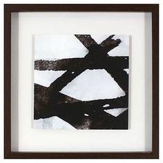 Framed Wall Art Black/White - Threshold™ : Target