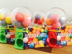 Bubble gum partie pour les 6 ans de Mahé