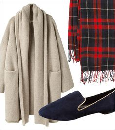 14 Pieces You Need For A Comfy-Chic Thanksgiving  Body-con and buffets do not mix — though the alliteration might suggest the contrary. For the holiday of generous second helpings and all-day snack-a-thons, you need to dress accordingly. That means elastic waistbands, roomy tops, and plenty soft-as-a-baby chick cashmere.