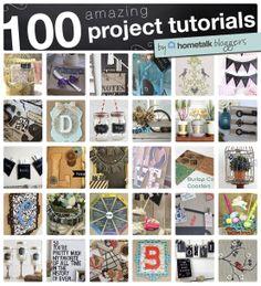 100 Amazing Project Tutorials