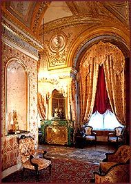 ALEXANDRA AND NIKOLAY II OF RUSSIA ~ the boudoir of the empresses of Russia in Winter Palace, St Petersburg || a nice article and more pictures about the lost world of Russian Tzars is on the link