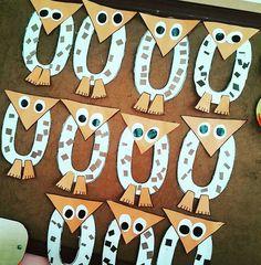letter owl craft