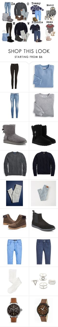 """Families in winter"" by mesi05 ❤ liked on Polyvore featuring Acne Studios, Blair, STELLA McCARTNEY, UGG, BDG, Abercrombie & Fitch, Giorgio Armani, John Lewis, TOMS and Charlotte Russe"
