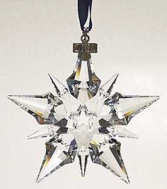 Swavorski 2001 Snowflake Ornament
