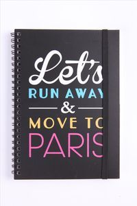 Let's Run Away & Move to Paris Lets Run Away, Moving To Paris, Journal Notebook, Running Away, Typo, Gifts For Him, Home Goods, Best Gifts, Stationery