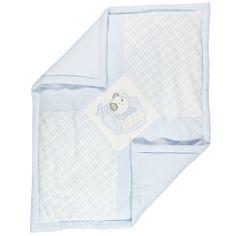 Copertina di felpa con orsetto azzurra Da Neonato | Abbigliamento Store
