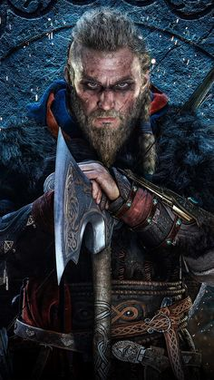 The Assassin, Arte Assassins Creed, Assassins Creed Odyssey, Viking Warrior, Viking Age, Valhalla Viking, Ragnar Lothbrok Vikings, Connor Kenway, Assassin's Creed Wallpaper