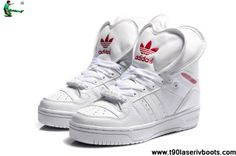 Latest Listing Cheap Adidas Attitude Logo Double Heart Tongue Shoes White Casual shoes Shop