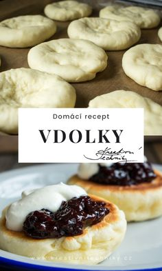 No Salt Recipes, Bread Recipes, Sweet Recipes, Cookie Recipes, Czech Desserts, Czech Recipes, Dumplings, Recipe Box, Sweet Treats