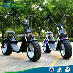 Newest Citycoco Style Electric Scooter Harley Two Wheel Mobility Scooter for Adults From Xinli Escooter