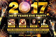 New Years Eve Horizontal Flyer Template - http://xtremeflyers.com/new-years-eve-horizontal-flyer-template/ New Years Eve Horizontal Flyer Template   New Years Eve Horizontal Flyer Template was designed to advertise a new years eve event in a club / pub / bar / restaurant.  The design is well sorted in folders, and all the elements can be removed or rearranged as you please. You don't need a good #Flyer, #NewYear, #NewYearsEve, #Nye, #Poster, #Psd, #Template