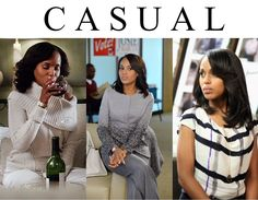THE MRS OLIVIA POPE STYLE | Ornella Robs