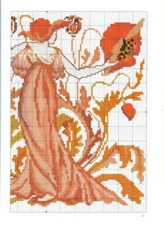 Gallery.ru / Foto # 53 - Jugendstil Cross Stitch - 777m