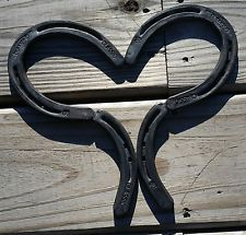 Horseshoe Heart, Western Decor, Metal Horse Shoes, Art Mother's Day Love