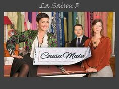 "Cousu Main Saison 3 ""Tous les modèles de patron couture"" Bettinael.Passion.Couture.Made in france"