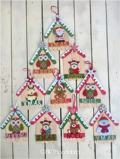 Childrens Christmas Crafts, Christmas Arts And Crafts, Christmas Ornament Crafts, Handmade Christmas, Holiday Crafts, Christmas Diy, Xmas, Popsicle Crafts, Craft Stick Crafts