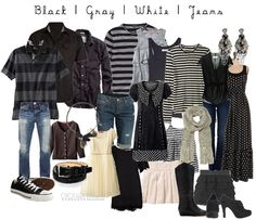 what to wear for family portraits.we just did family photos last week - but great ideas for next year! Family Photos What To Wear, Large Family Photos, Fall Family Pictures, Family Pics, Fall Photos, Family Trees, Family Posing, Family Portrait Outfits, Family Picture Outfits