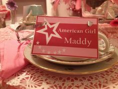Cookies And Tea For Me!: American Girl Doll Tea Party