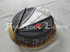 Orchestra Conductor Cake