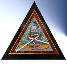 Great Pyramid Wall Clock