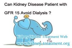 Can Kidney Disease Patient with GFR 15 Avoid Dialysis