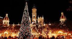 Árboles de Navidad, Iglesias en Navidad, Plazas en Navidad #GermanLeonardoVargasBeltran #GermanVargasBeltran