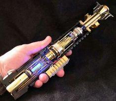 Light saber cutaway.