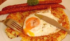 Rosti (Swiss Grated Potato Cake)