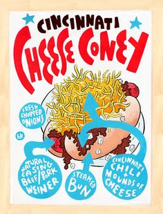 cheese coney / hawk krall