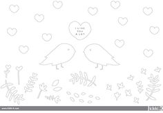 Colour in this Valentine's Day Colouring In Sheet and share your love with someone special.