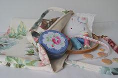 Craft Accessories, Uk Shop, Kanken Backpack, Vintage Floral, Backpacks, Sewing, Handmade, Crafts, Bags