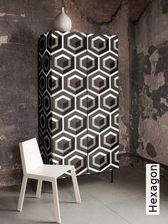 Tapete: Hexagon - TapetenAgentur