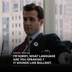 Love Harvey Specter!!