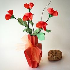 62 best small origami flower arrangements images on pinterest beautiful delicate origami flower arrangement available in shop on website small flower arrangements small mightylinksfo