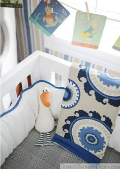 Dakota Blue Baby Boys Crib Bedding Collection from New Arrivals Inc