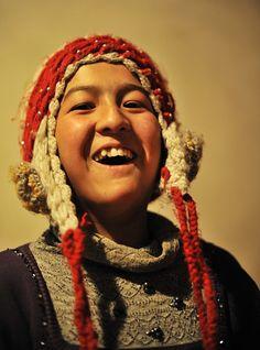 Little Uyghur Girl, Kashgar - West China