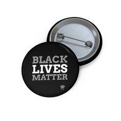 Black lives matter pin, Blacklivesmatter Pin Buttons Buttons, Metal, Life, Black, Black People, Knots, Plugs